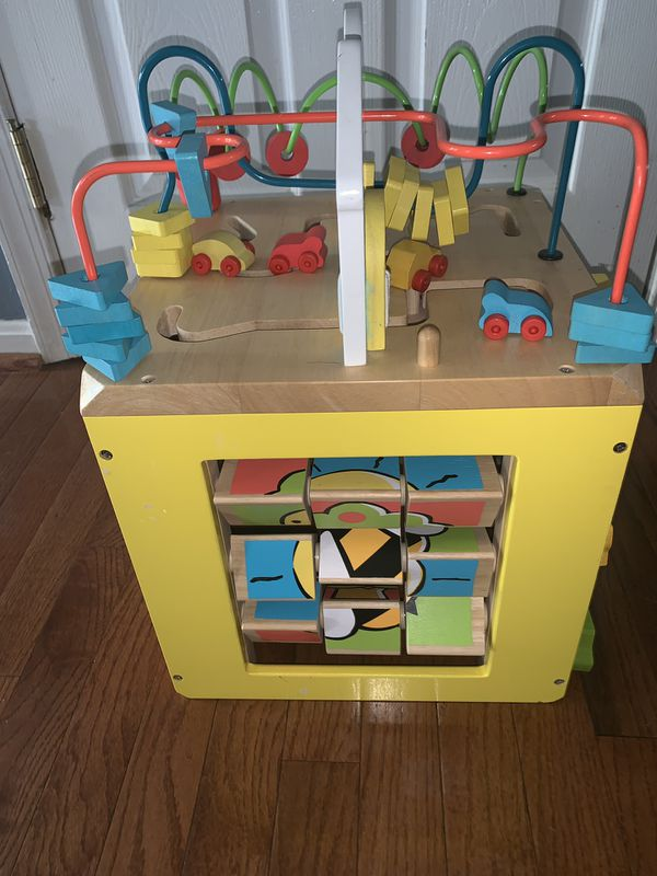 Learning cube for toddlers baby