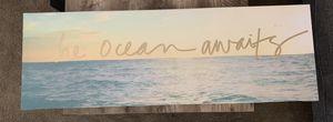 Beach theme canvas wall art for Sale in Sacramento, CA