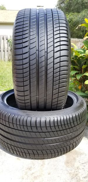 275/40/19 MICHELIN PRIMACY ZP 99% TREAD BMW MERCEDES MUSTANG JAGUAR for Sale in Tampa, FL