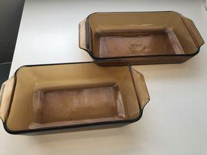 Glass brown bakeware set for Sale in Miami Beach, FL