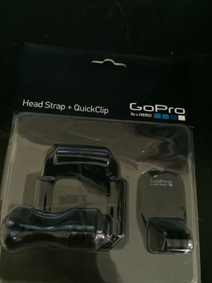 GoPro headstrap + quickclip for Sale in Los Angeles, CA
