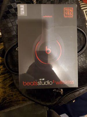 Brand new beats studios 3 still in original plastic retails for $350 for Sale in Boston, MA