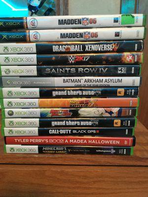 Xbox 360 video games $10 a piece for Sale in Baton Rouge, LA