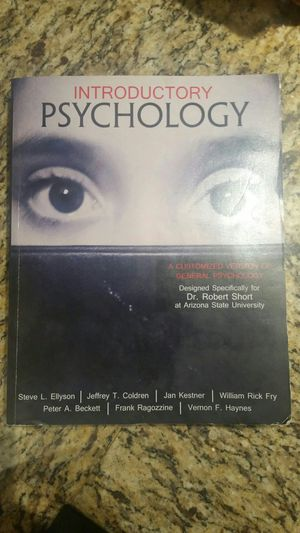 Introductory Psychology for Sale in US
