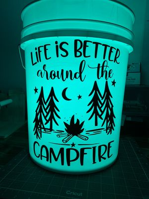 Camping buckets (can be personalized) for Sale in Riverside, CA