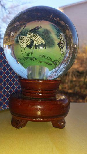 Japanese Antique Crystal Ball Decor for Sale in Fairfax, VA