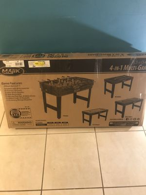 "Majik 54"" 4 in 1 Multi Game Table for Sale in Lauderdale Lakes, FL"