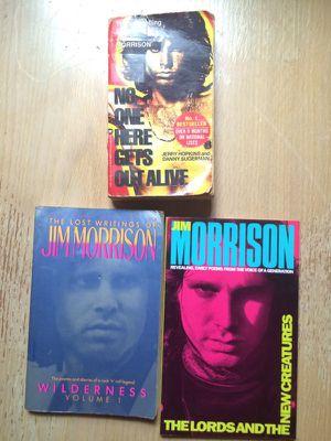 Jim Morrison The Doors Books for Sale in Parkersburg, WV