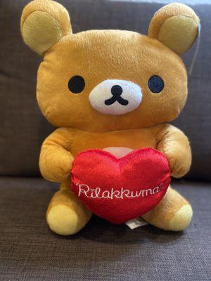 Rilakkuma heart plushie for Sale in Torrance, CA