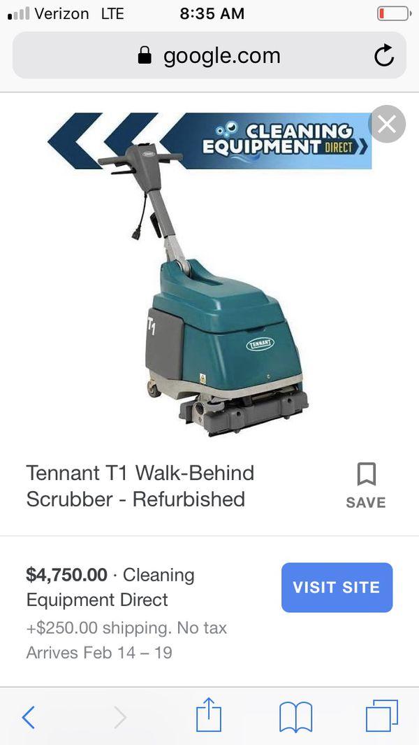 T1 floor scrubber