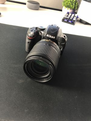 Nikon D5100 with Lens for Sale in St. Louis, MO