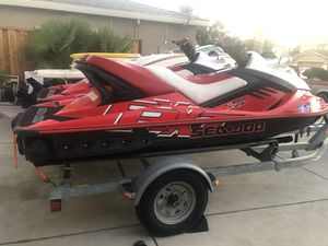 2008 seadoo rxt 215 supercharged for Sale in Tracy, CA