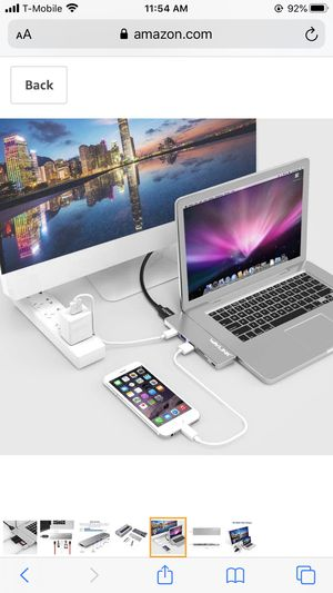 Usb C Hub for MacBook for Sale in Rowland Heights, CA