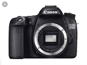 Canon 70d for Sale in Palo Alto, CA