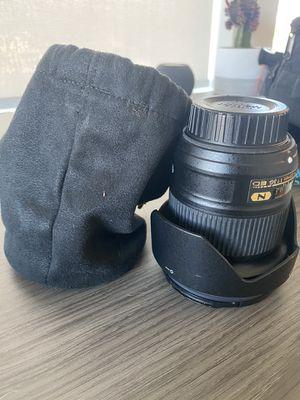 Nikon 20mm lens - AF-S Nikkor 20mm F/1.8G EDlens with filters for Sale in Portland, OR