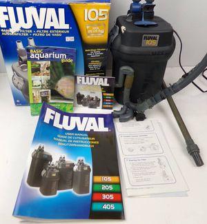 FLUVAL 105 Aquarium Canister Fish Tank Filter for Sale in Modesto, CA