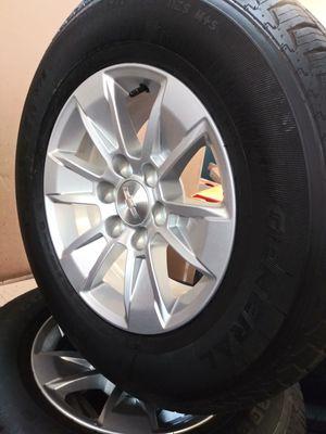 New Chevrolet Rims & Tires. 255/70 R17 for Sale in Gardena, CA