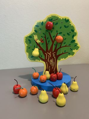 Montessori Magnetic Wooden Fruit Tree Toy for Sale in Pacifica, CA