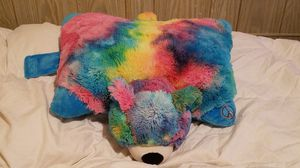 """Tie Dye Teddy Bear Plush Pillow Stuffed Animal Toy Large 21"""" Pillow Pets for Sale in Brookfield, IL"""