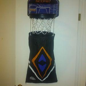 Over The Door Basketball Hamper for Sale in Bakersfield, CA