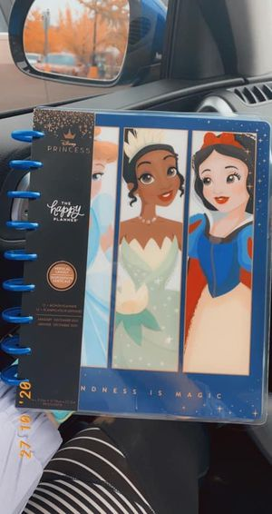Disney princess happy planner 2021 for Sale in Florence, KY