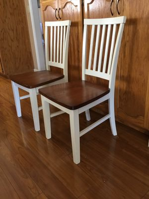 Farmhouse Solid Wood Side Dining Table ( Set of 2 ) for Sale in Turlock, CA