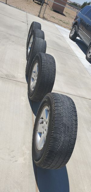 """5 30"""" P255/75R17 Jeep Wheels And Tires for Sale in Oak Hills, CA"""