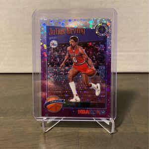 2020 NBA Hoops Dr.J Tribute Purple Disco #293 for Sale in Renton, WA