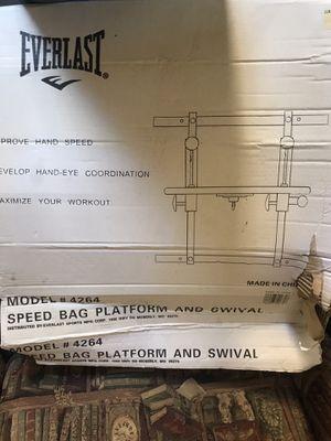 EVERLAST Speed Bag Platform and Swival for Sale in Las Vegas, NV