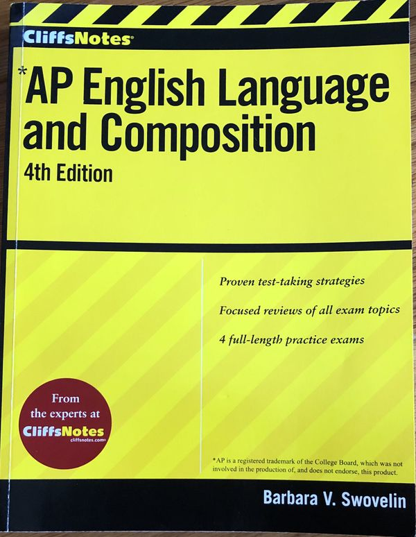 Cliffnotes AP English Language and Composition