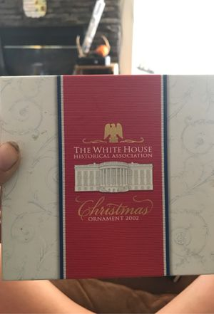 2002 Whitehouse Christmas ornament for Sale in New Canton, VA