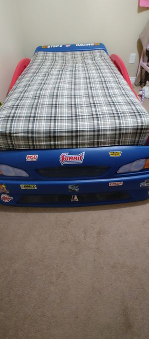 Race Car Convertible Toddler to Twin Bed for Sale in Dearborn, MI