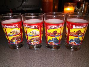 Collectible Barnum & Bailey Glasses for Sale in Plymouth, MA