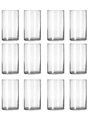 STARSIDE 12 Pack Clear Glass Cylinder Vases, Table Flowers Vase,for Wedding Decrations and Formal Dinners (6 Inch) for Sale in Las Vegas, NV