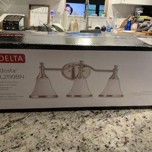 Delta Light Fixture for Sale in Bradenton, FL