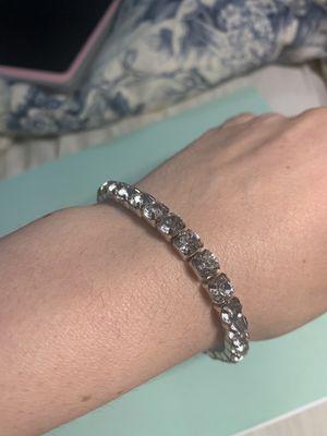 Sterling silver Crystal bracelet for Sale in Fresno, CA