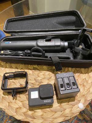 GoPro hero 7 black with GoPro Gymbal for Sale in Irvine, CA