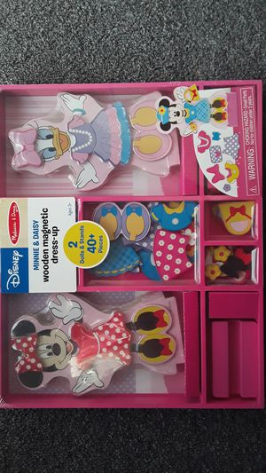 MINNIE MOUSE & DAISY MELISSA AND DOUG WOODEN MAGNETIC DRESS UP $15 ✔✔✔ PRICE IS FIRM✔✔✔ for Sale in Huntington Park, CA