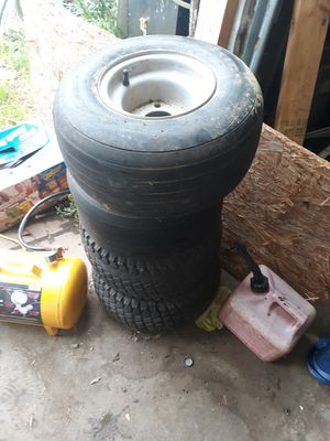 Golf cart or trailer tires for Sale in Canton, OH