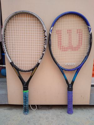 2 tennis rackets for Sale in Santa Ana, CA
