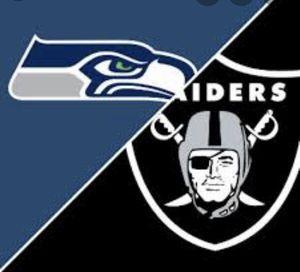 Seahawks vs Raiders for Sale in Portland, OR