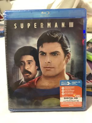 Superman 3 / BluRay DVD for Sale in Fontana, CA