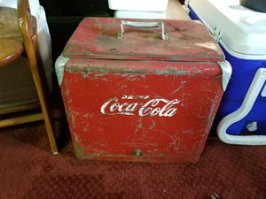 Coke cooler 50s for Sale in Cleveland, OH