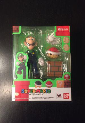 New Nintendo S.H.Figuarts LUIGI Super Mario Brothers figure for Sale in Glen Ellyn, IL