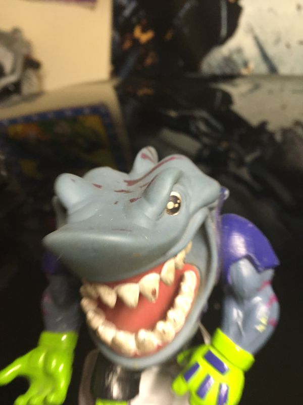 Vintage Street Sharks Action Figure Toy Collection