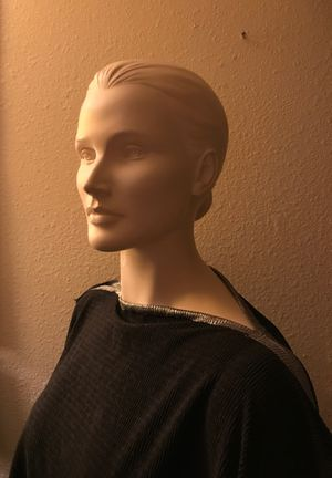 Halloween sale, plus size headed full body female manikin mannequin with stand for Sale in Cupertino, CA