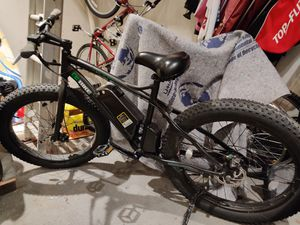 Electric bike fat tire 48 votls for Sale in Woodridge, IL