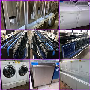 Refrigerators, stoves, washers & dryers, dishwashers, & microwaves in excellent condition with 4 months ‼️ for Sale in Baltimore, MD