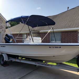 2001 Sea Hunt Navigator 19 CC for Sale in League City, TX