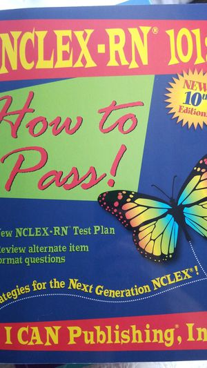 NCLEX-RN 101: How to Pass! for Sale in Tampa, FL